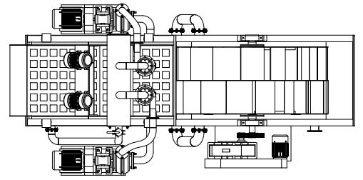 洗砂回收一体机基础图