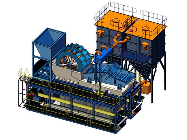 模块化洗砂回收、尾水净化、固废干排设备