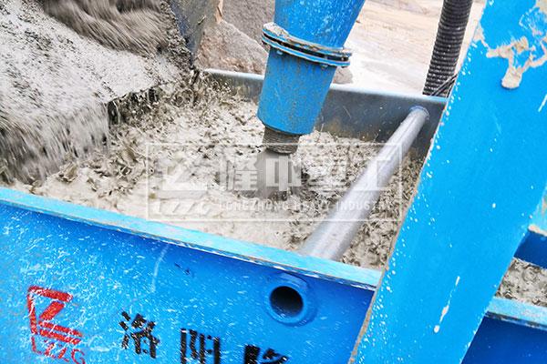 回收尾水中的細沙